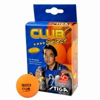 Set de 6 Mingi Ping Pong STIGA CLUB SELECT / portocaliu
