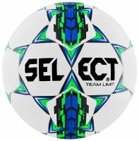 Minge fotbal SELECT TEAM LIMIT alb / verde / albastru 10545