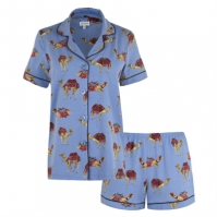 Bedhead Caravan cu Maneca Scurta Pyjama Set