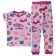 Pijamale Lego Wear Iconic pentru fetite