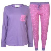 Rock and Rags Table Pyjama Set pentru Femei