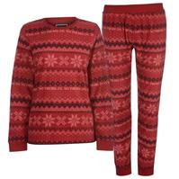 Bluze SoulCal Micro Pyjama Set pentru Femei