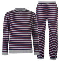 SoulCal Jersey Stripe Pyjama Set pentru Barbati
