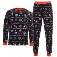 Star Christmas Fairisle Pyjamas pentru Barbati