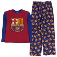 Team Woven Jersey Pyjama Set Child de baieti