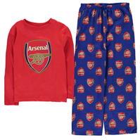 Team Woven Jersey Top Pyjama Set Child de baieti