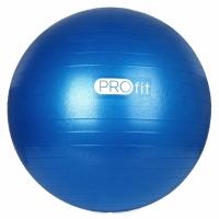 Minge fitness PROFIT 75cm albastru cu a pompa