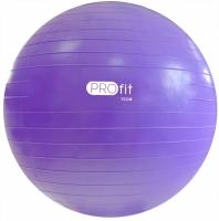 Minge pentru gimnastica PROFIT 75cm violet cu pompa