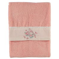 Prosop Linens and Lace Chinese Floral Hand