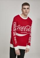 Pulover Coca Cola Craciun Xmas rosu Merchcode