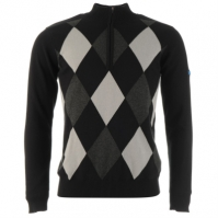 Bluza de trening Slazenger Half Zip Argon Lined Golf pentru Barbati