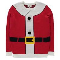 D555 Santa 3D Christmas Jumper pentru Barbati