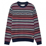 Jack Wills Wills Fairisle Crew Neck Jumper