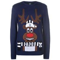 Team Knitted Christmas Jumper pentru Barbati