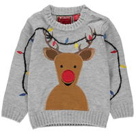 Star Christmas Knitted Jumper de baieti Bebe