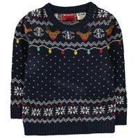 Star Christmas Knitted Jumper de baieti Bebe