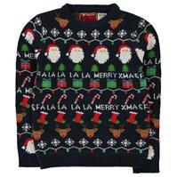 Star Christmas Knit Jumper de baieti Junior