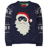 Star Christmas Knit Jumper de baieti Junior
