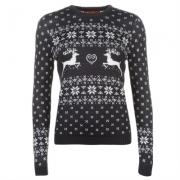 Star Christmas Knitted Jumper pentru Femei