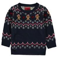 Star Christmas Knitted Jumper de fete Bebe