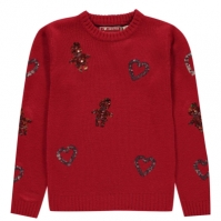 Star Christmas Knit Jumper de fete Junior