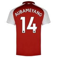 Tricou Puma Arsenal Home Pierre Emerick Aubameyang 2017 2018