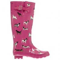Requisite Print Wellingtons