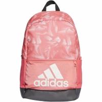 Rucsac Adidas clasic BP imprimeu Graphic roz DT2593 pentru femei