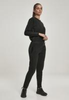Bluze Salopeta Polar pentru Femei negru Urban Classics