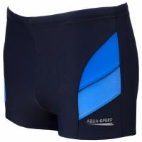 Pantalon scurt inot AQUA-SPEED ANDY bleumarin-albastru 42 349