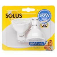 Solus 2 Pack 50W LED Light Bulbs