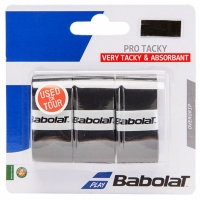 Set 3 Babolat Pro Tacky Wrapper negru 149179