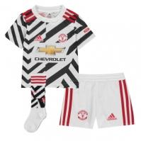 adidas Manchester United Third Mini Kit 2020 2021