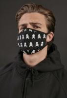 Set de 2 Cagula ski Skull negru-alb Mister Tee