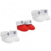 England 3 Pack Booties Bebe