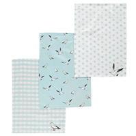 Ashwood 3 Pack Bird Tea Towels