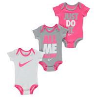 Nike Bodysuits 3 Pack Bebe