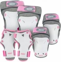 Set de 3 Role Protectie pentru ROCES cu aerisire alb / roz / / 301352 03 copii