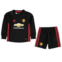 adidas Manchester United Home Portar Kit 2016 2017 Mini