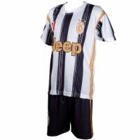 Set fotbal For Replica Ronaldo Juventus 202021 alb -negru pentru Copii