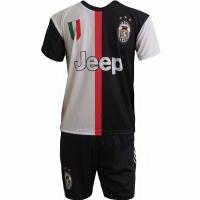 Set fotbal Replica Ronaldo Juventus 20192020 negru