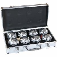 Set Genti voiaj Enero Boule Peranque Balls 8 Aluminum 1003825