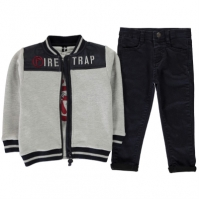 Firetrap 3 Piece Trouser Set de baieti Bebe