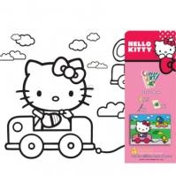 Set Pictura Cu Tablou Hello Kitty