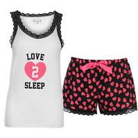 Miso Vest and Short Pyjama Set pentru Femei