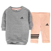 Bluza de trening Rochie adidas Set de fete Bebe