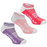 Soseta LA Gear Yoga 3 Pack pentru Femei