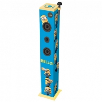 Sistem Audio Bluetooth Karaoke Happy Minions