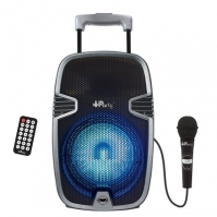 Troler Bluetooth Karaoke System With Lights