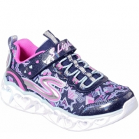 Adidasi Sport Skechers Heart Lights Bebe